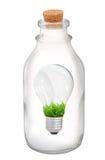 电灯泡光本质 免版税库存图片