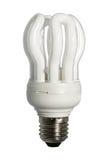 电灯泡光白色 免版税库存图片
