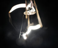 电灯泡光 库存照片