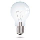 电灯泡光 免版税图库摄影