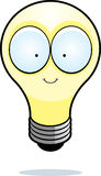 电灯泡动画片光 库存图片