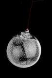 电灯泡圣诞节玻璃装饰品 免版税库存照片
