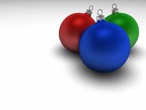 电灯泡圣诞节 库存照片