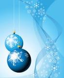 电灯泡圣诞节 皇族释放例证