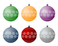 电灯泡圣诞节 免版税图库摄影