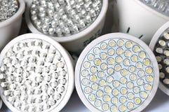 电灯泡导致光 库存图片