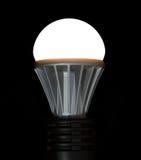 电灯泡导致被点燃的光 免版税库存图片