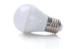 电灯泡导致光 库存照片