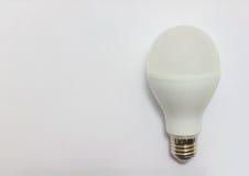 电灯泡导致光 图库摄影