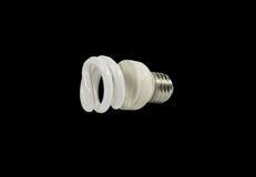 电灯泡常规细丝钨类型白色 免版税库存照片
