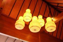 电灯泡想法设计 库存照片