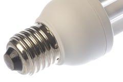 电灯泡查出的光 库存照片