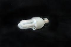 电灯泡查出的轻的白色 图库摄影