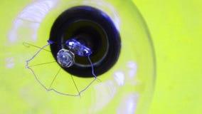 电灯泡概念想法例证光向量 淡黄色的电灯泡 电 库存图片