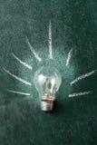 电灯泡概念想法例证光向量 库存图片
