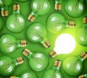 电灯泡概念想法例证光向量 免版税库存图片