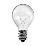 电灯泡概念想法 免版税图库摄影