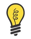 电灯泡照明设备 免版税库存照片