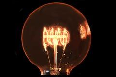 电灯泡白炽光 库存照片
