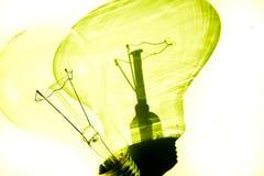 电灯泡白色 图库摄影