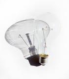 电灯泡白色 库存照片