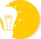电灯泡的例证 库存图片