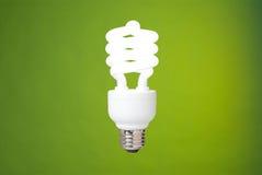 电灯泡紧凑荧光灯 免版税库存图片