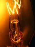 电灯泡细丝光 免版税库存照片