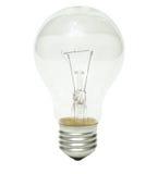 电灯泡结算 库存图片