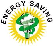 电灯泡能源光节省额符号 库存照片
