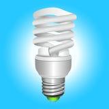 电灯泡能源荧光灯节省额 免版税库存图片