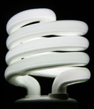 电灯泡萤光白色 免版税库存照片