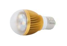 电灯泡闪亮指示导致光 免版税库存照片