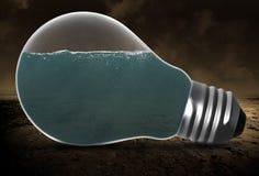 电灯泡,水,环境,环境决定一切论 库存照片