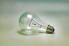 电灯泡,葡萄酒样式 图库摄影