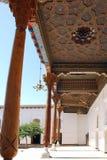 电灯泡 清真寺在平底船堡垒 图库摄影