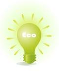 电灯泡eco 库存例证