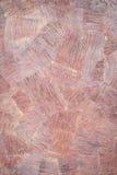 电烙与刷子线的土气表面在红色 免版税库存图片