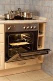 电烤箱 免版税库存照片