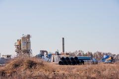 电烫,俄罗斯- 4月16 2016年:制造的迷你工厂 库存照片