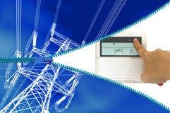 电热化或冷却系统 免版税库存照片