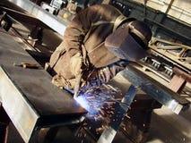 电焊工 图库摄影