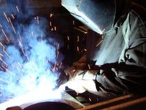 电焊工 免版税库存照片