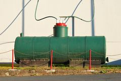 电的电容器 免版税库存照片