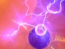 电的背景 库存图片