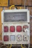 电箱子 图库摄影