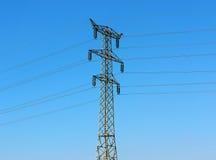电线路传输 库存照片