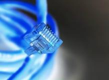 电缆互联网 免版税库存图片