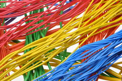 电缆和导线 免版税库存照片