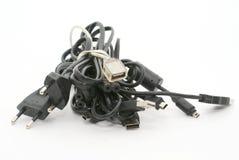 电缆堆 库存图片